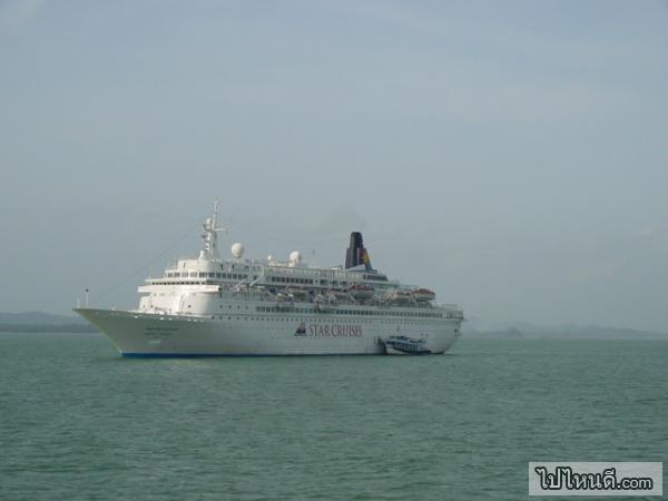 นักท่องเที่ยวสมารถร่องเรือสำราญนี้ไปเกาะช้างได้